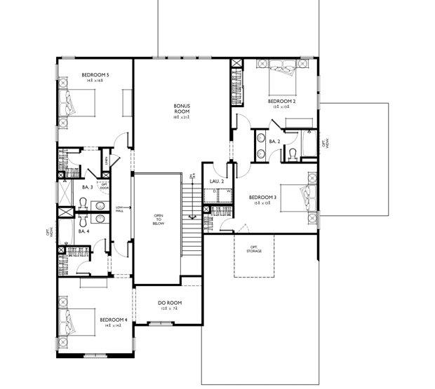 Arthur Rutenberg Homes Custom Home Design Living Area: Classica Homes - ChevalNC.com