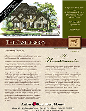 Castleberry Builder Sheet